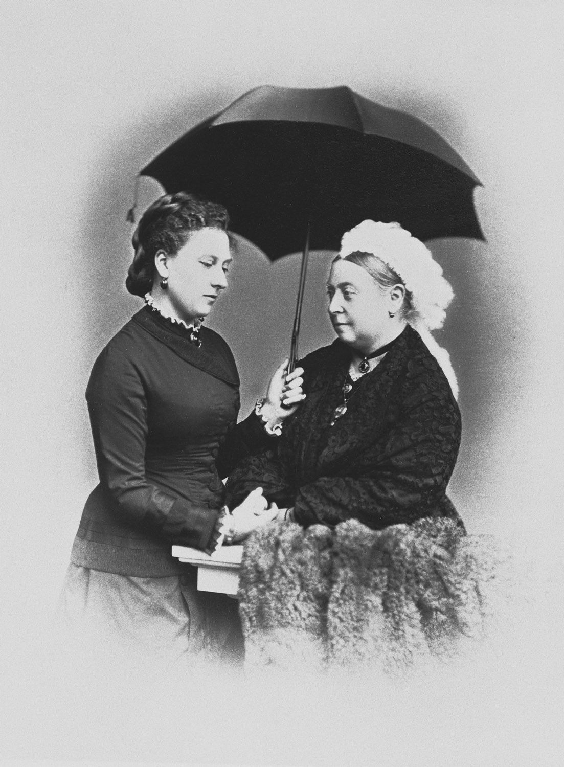 Queen Victoria and Princess Beatrice, 1879 [in Portraits of Royal Children Vol.24 1879] | Royal Collection Trust