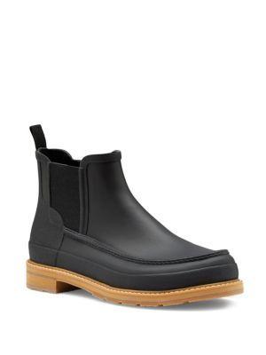 hunter original moc toe chelsea boots hunter shoes