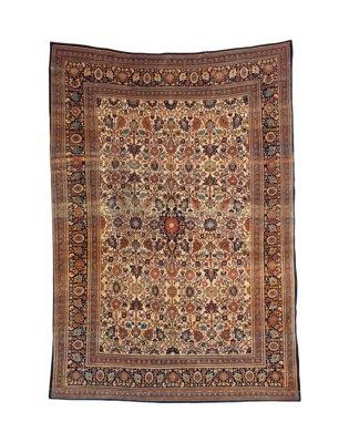 Tabriz Carpet Northwest Persia Late 19th Century Approximately 13 Ft 5 In X 9 Ft 5 In 409 Cm X 287 Cm Persia Tabriz Rug Century