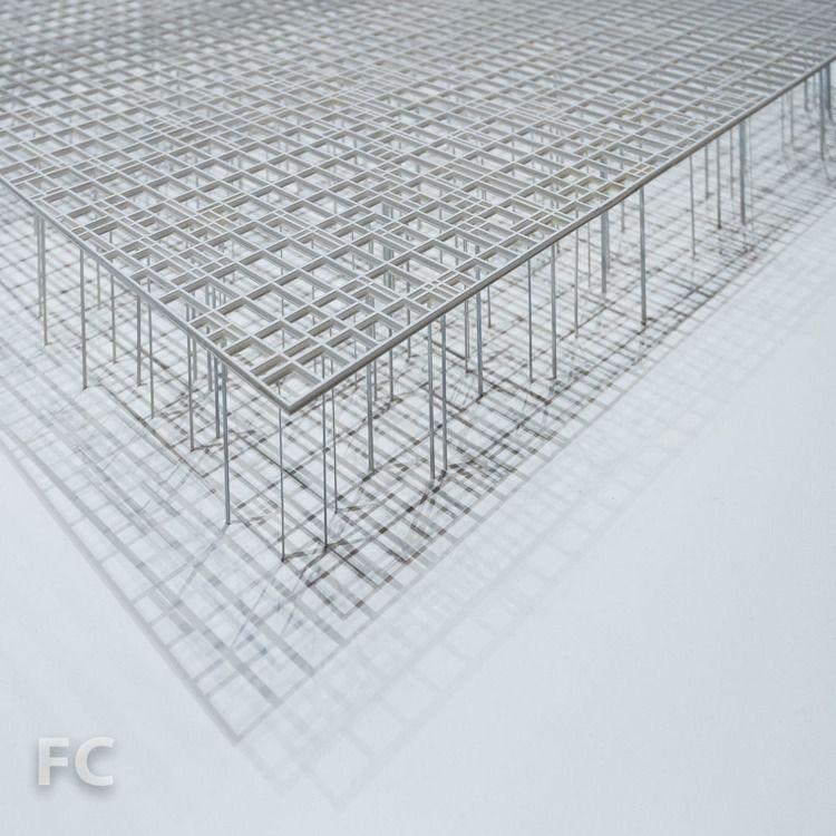Chicago Architecture Biennial Field Condition Chicago Architecture Japanese Architecture Architecture Model