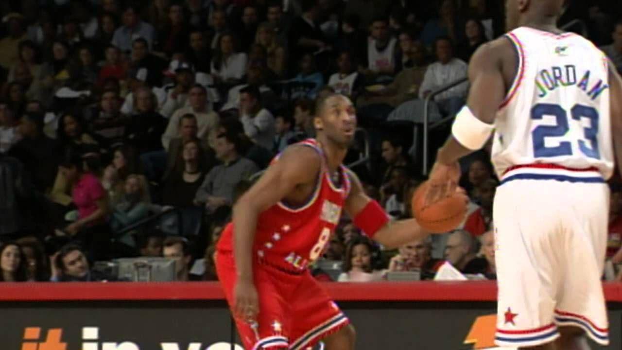 Kobe Bryant and Michael Jordan When Destiny Meets