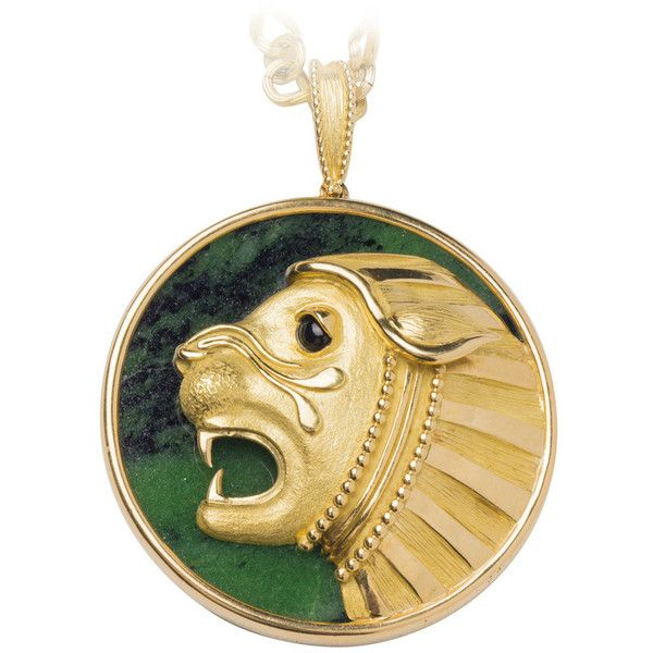 Pre owned mauboussin malachite gold lion pendant necklace 8500 pre owned mauboussin malachite gold lion pendant necklace 8500 liked on polyvore aloadofball Choice Image