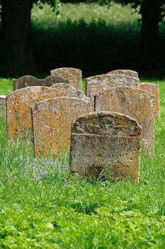 Bury St Edmunds Cemetery - Suffolk, England