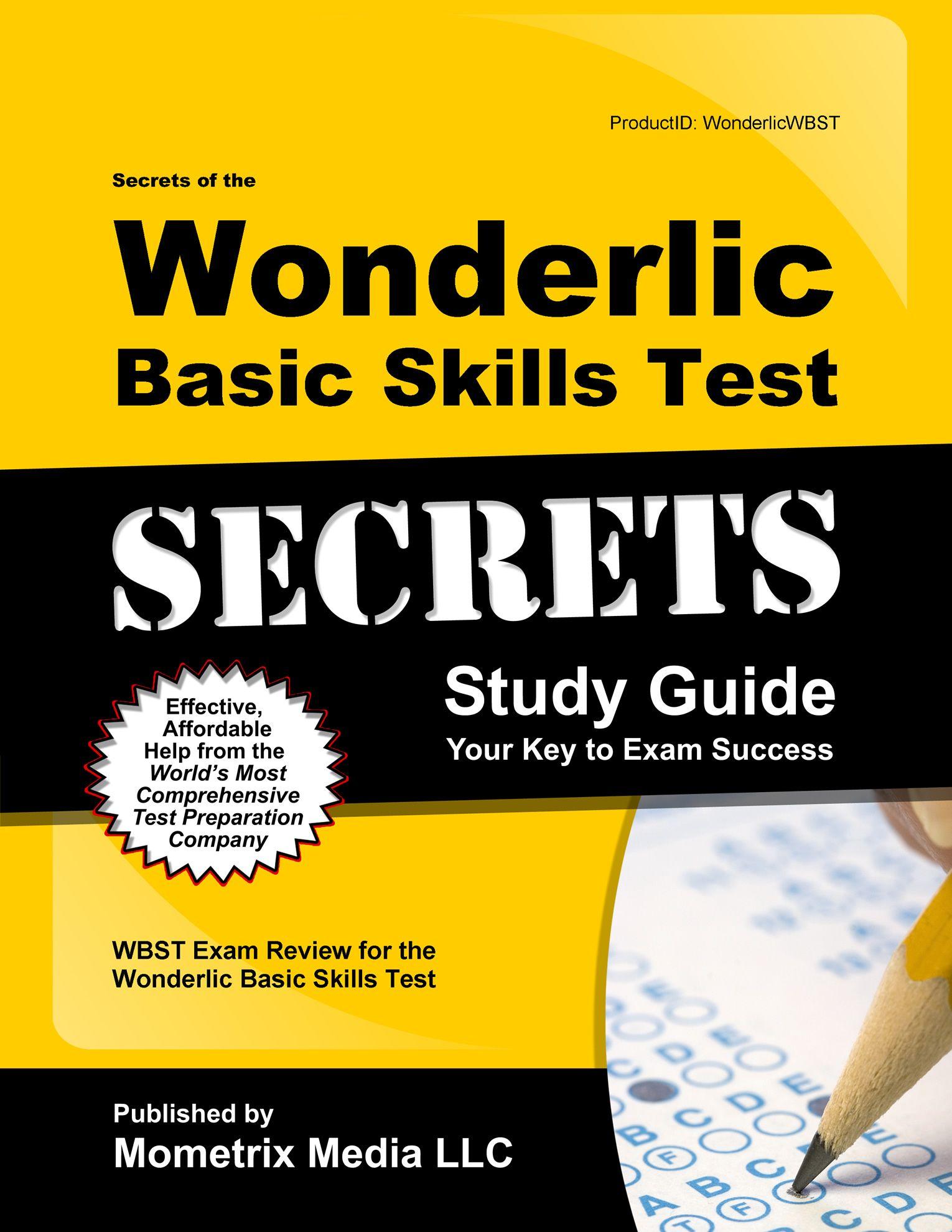 Wonderlic Basic Skills Test Study Guide http://mo-media.com/wonderlic/ # wonderlic