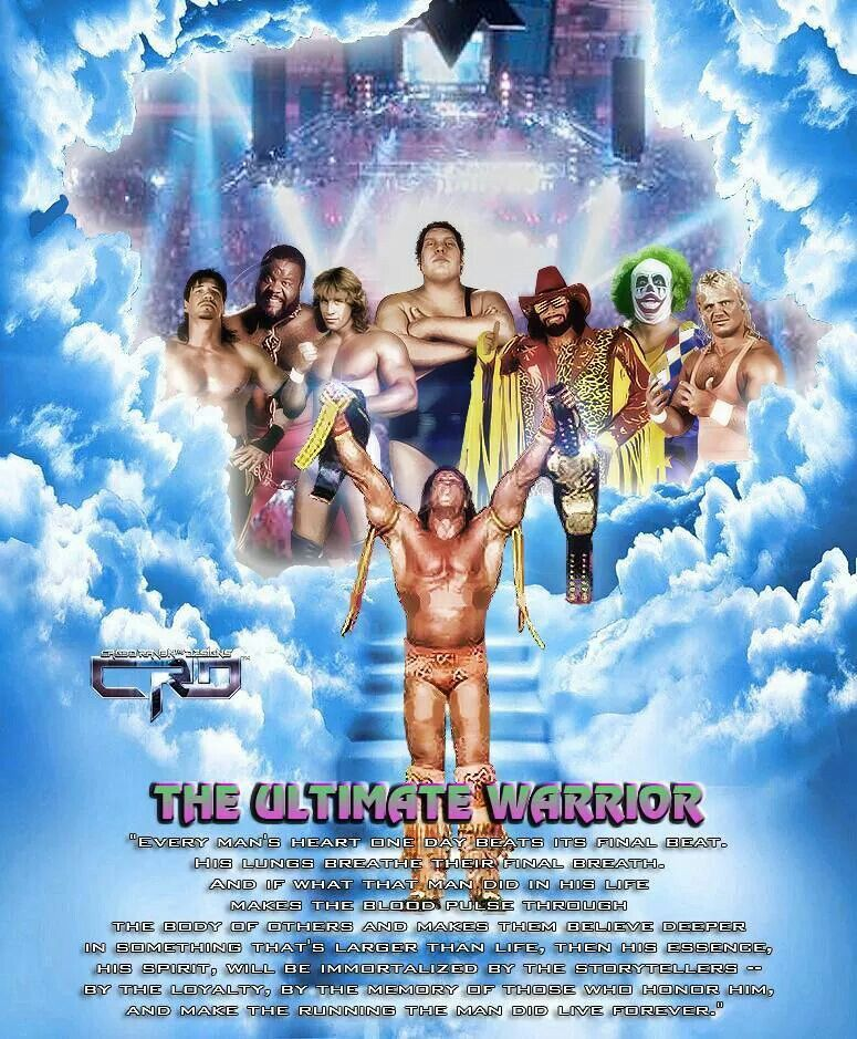 Wwe ultimate warrior funeral 2018