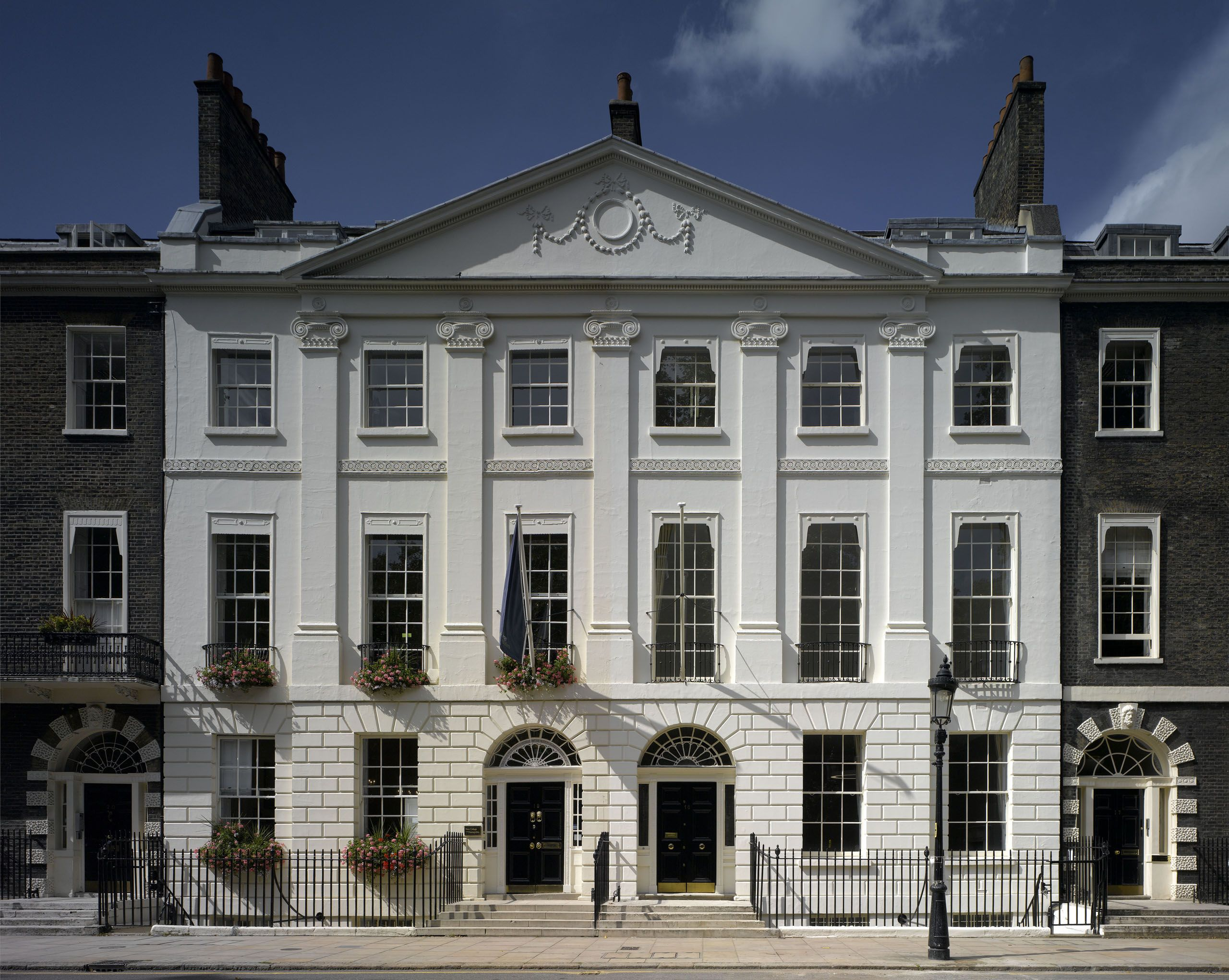 Bedford Square London Bedford Square Neoclassical Furniture Classical Elements
