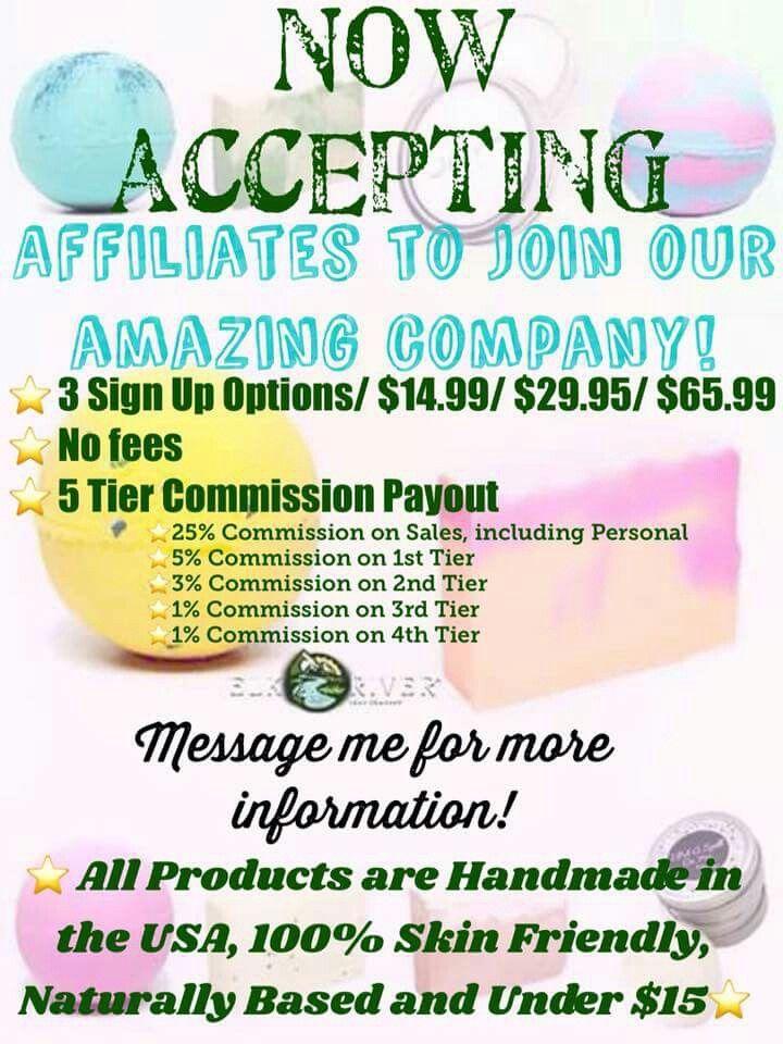 Elk River Soap Company affiliate program. Low start up
