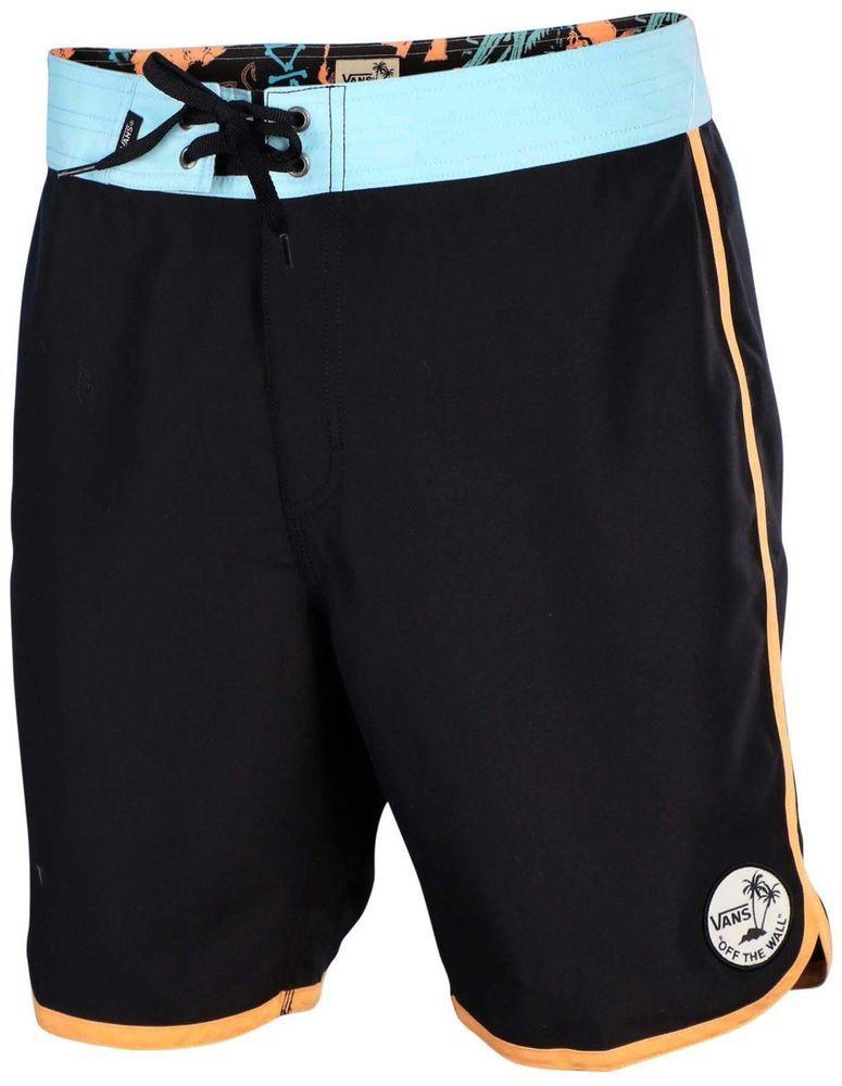 41968a729b New Mens VANS Board Shorts Planetary Swim Trunks Black Blue Orange Choose  Size #VANS #BoardShorts