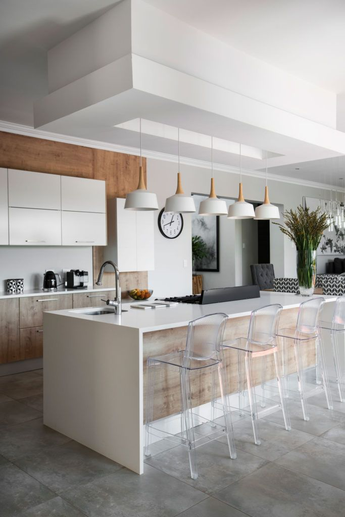 A Contemporary Family Home In Centurion Contemporary Kitchens And