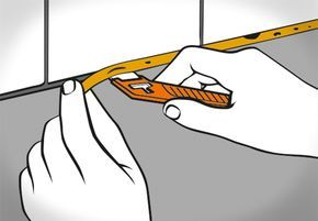 Silikonfugen entfernen und erneuern Silikon, Tapete