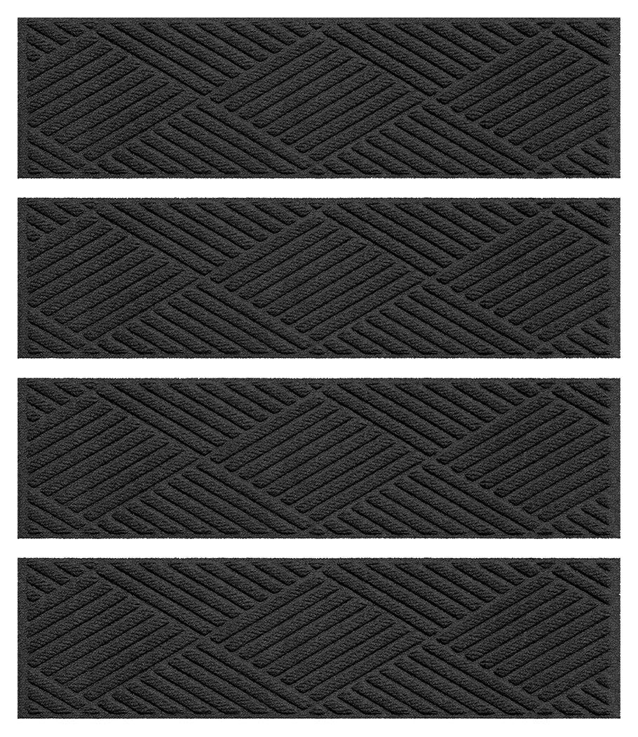 Best Home Accent Aqua Shield Diamonds Stair Treads Set Of 4 640 x 480