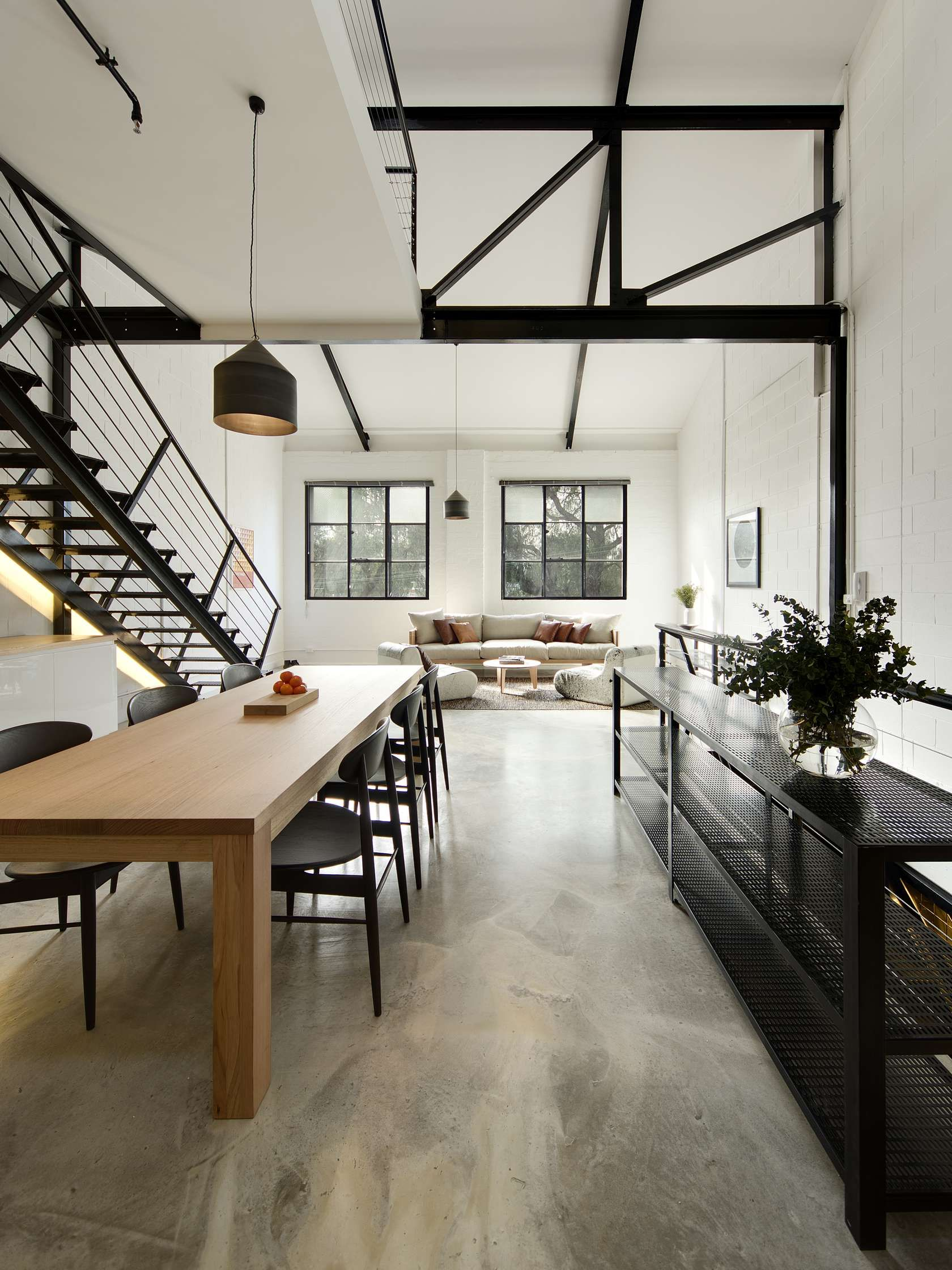 Simple Warehouse Loft Warehouse Living Natural Home