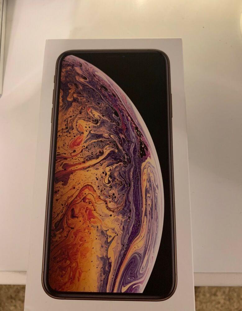 Apple iphone xs max 256gb gold verizon a1921 cdma