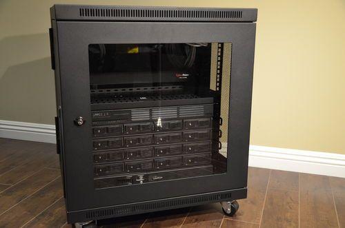Build Log] The Rackosauras: FreeNAS Server and 12U SOHO