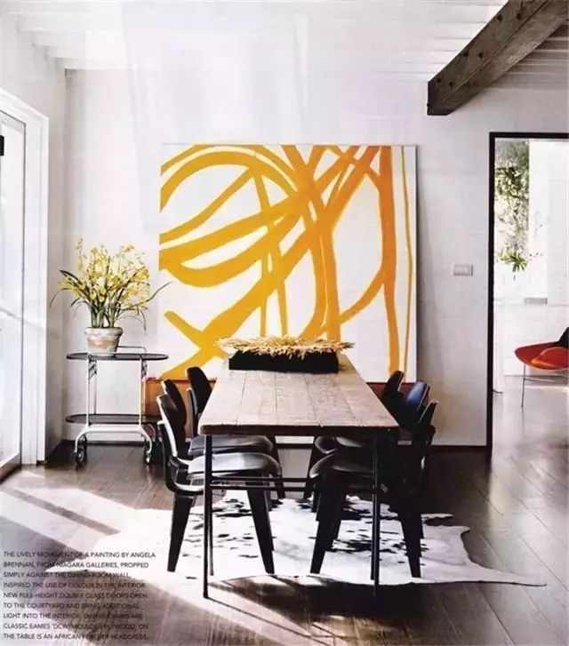 Easy Ways To Make Your Rental Feel More Like Home Oversized Art Interior Home Decor