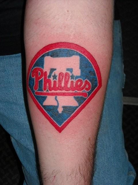 Philadelphia phillies tattoo phillies logo tat for Philly sports tattoo