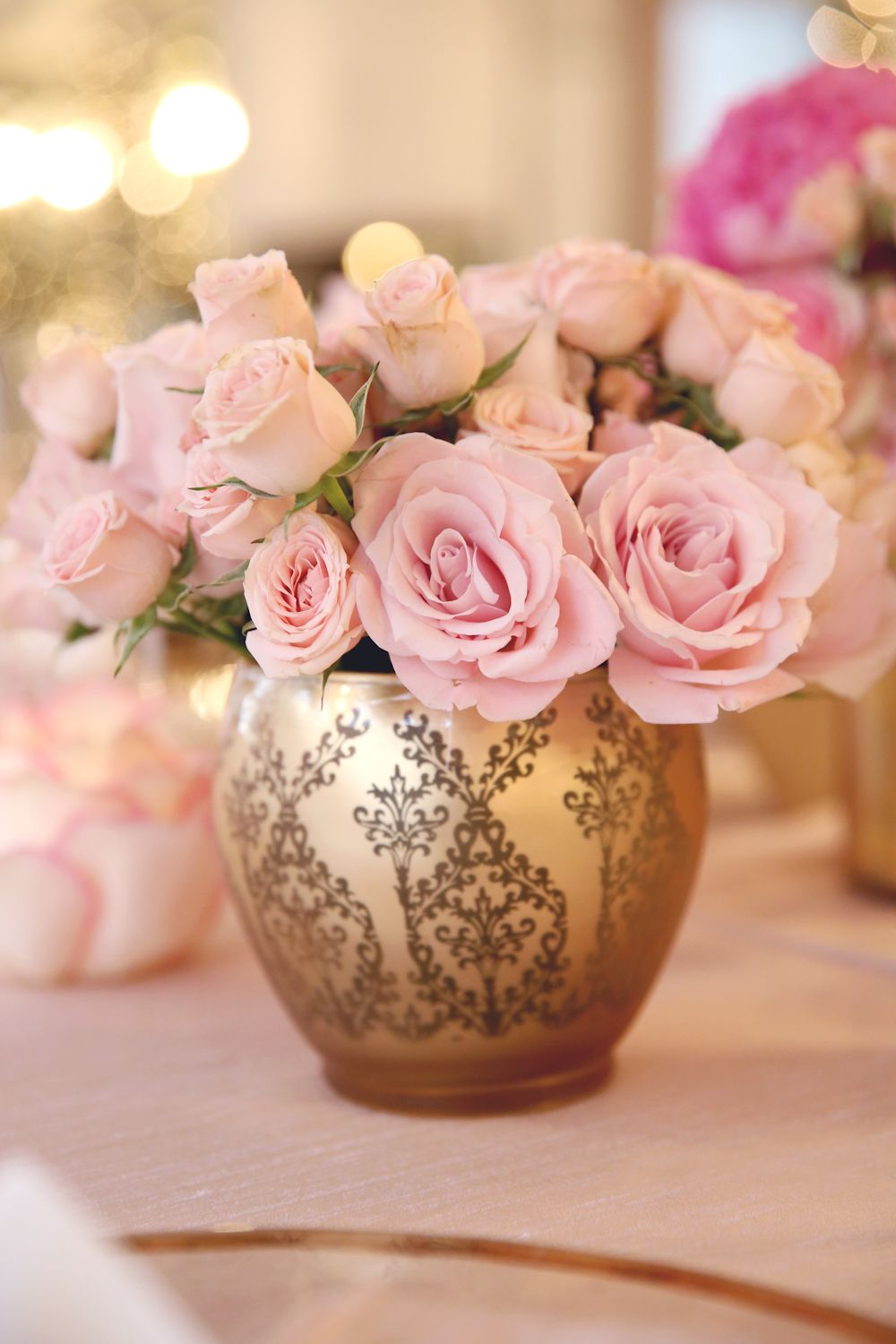 Pink gold a magical combo for a shower dear mila a pretty in pink gold a magical combo for a shower dear mila a vase of flowersroses reviewsmspy