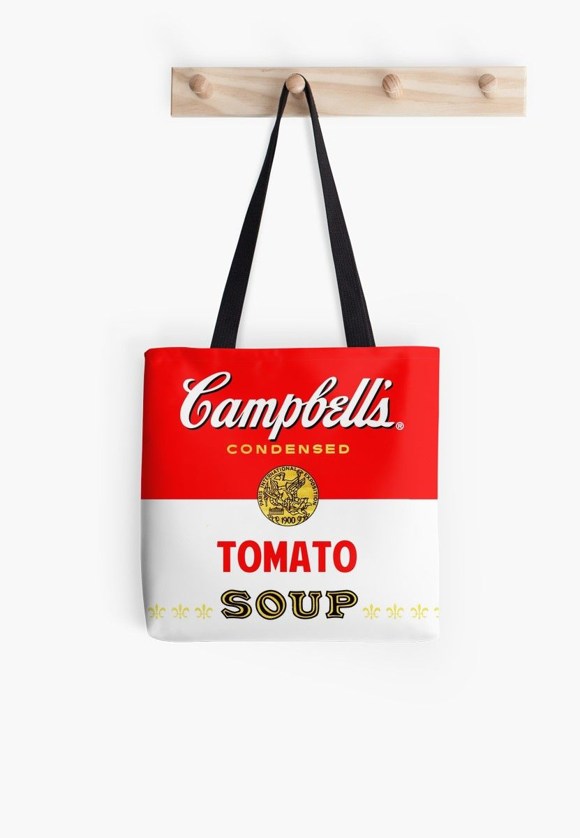 Campbell S Soup Tote Bag By Nostunts Printed Tote Bags Canvas Shopping Bag Bags