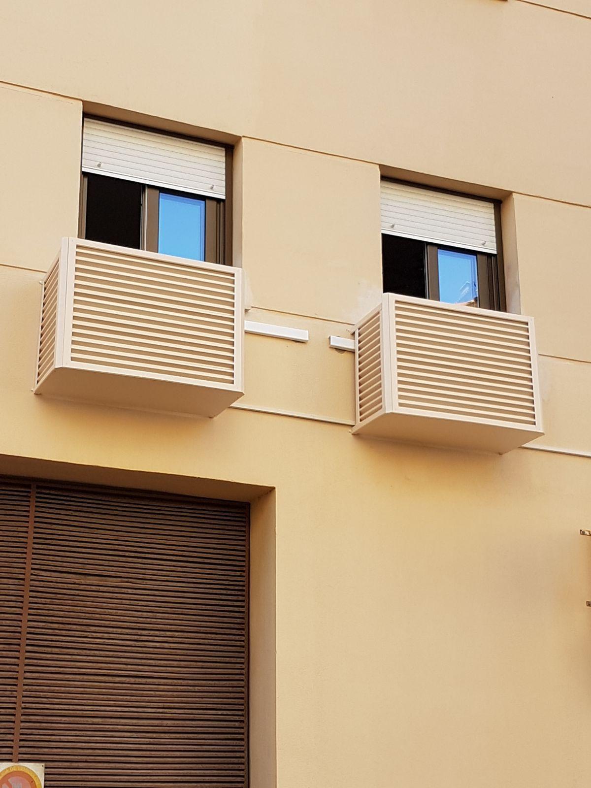 21 Ideas De Protectores De Rejas Para Aire Acondicionados Aire Acondicionado Acondicionado Cubierta De Aire Acondicionado