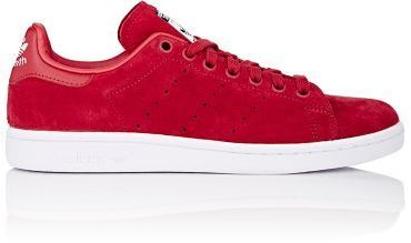 a915ba4e8f ... low price adidas x rita ora power red suede stan smith low top sneakers  accented with