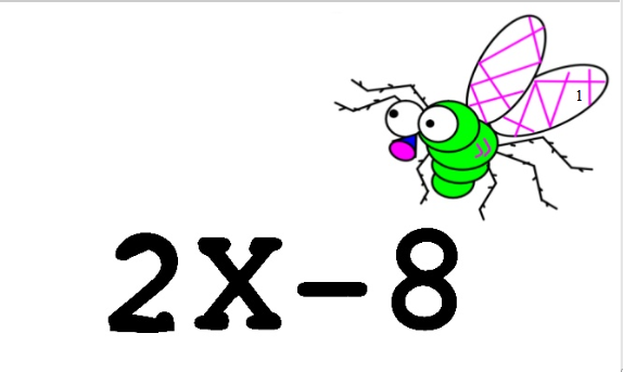 Flyswatter factoring game- Review- identify which equation