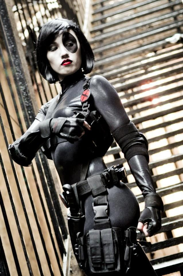 character domino neena thurman from marvel comics x