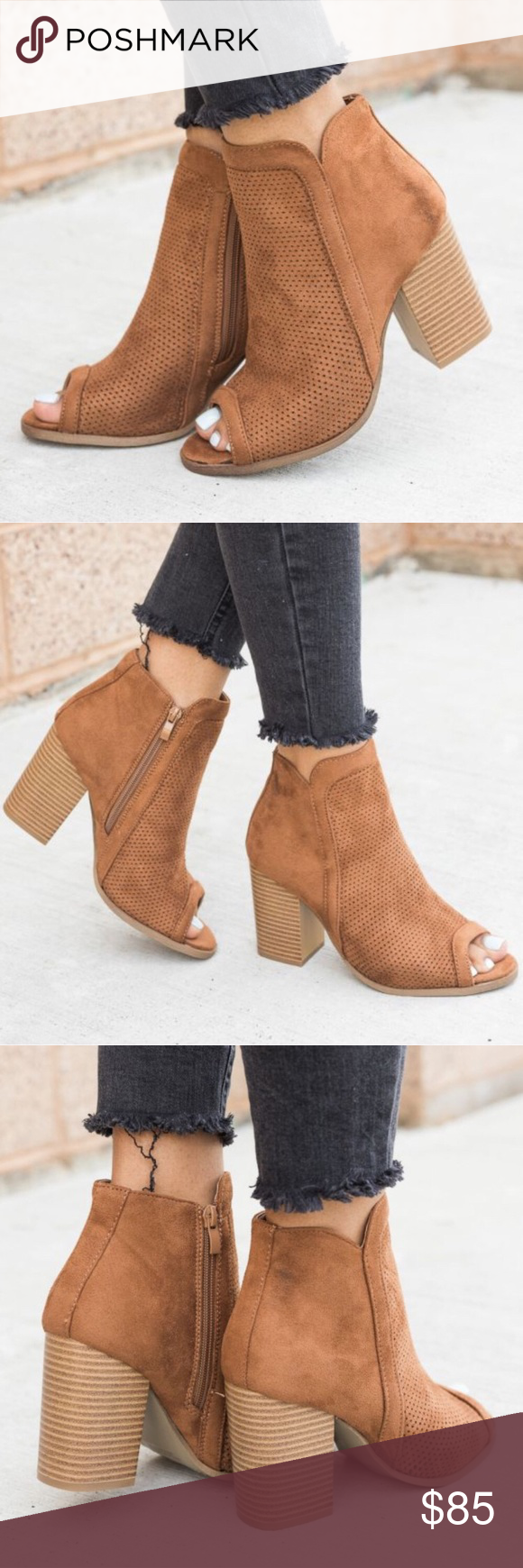 🎈LAST DAY SALE. Peep toe bootie | Ankle boots and Ankle