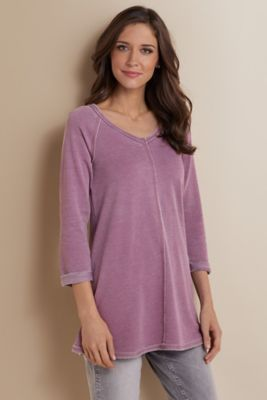 ba3a17e6662 Logan Swing Tunic - Swingy Top, Womens Tunic | Soft Surroundings ...