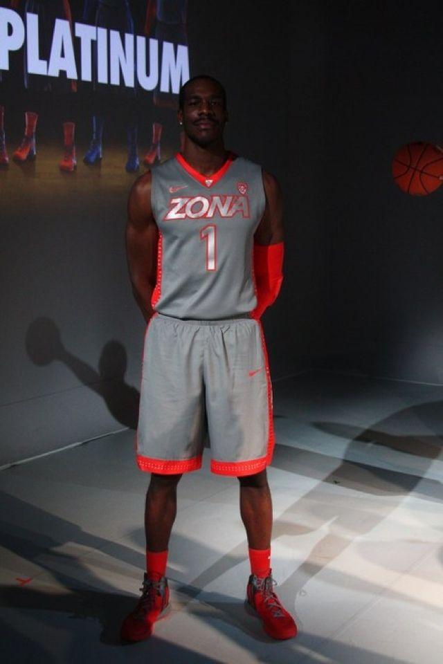 0e883b9de84 The Arizona Wildcats basketball uniform. | Fancred Challenge: Lookin ...