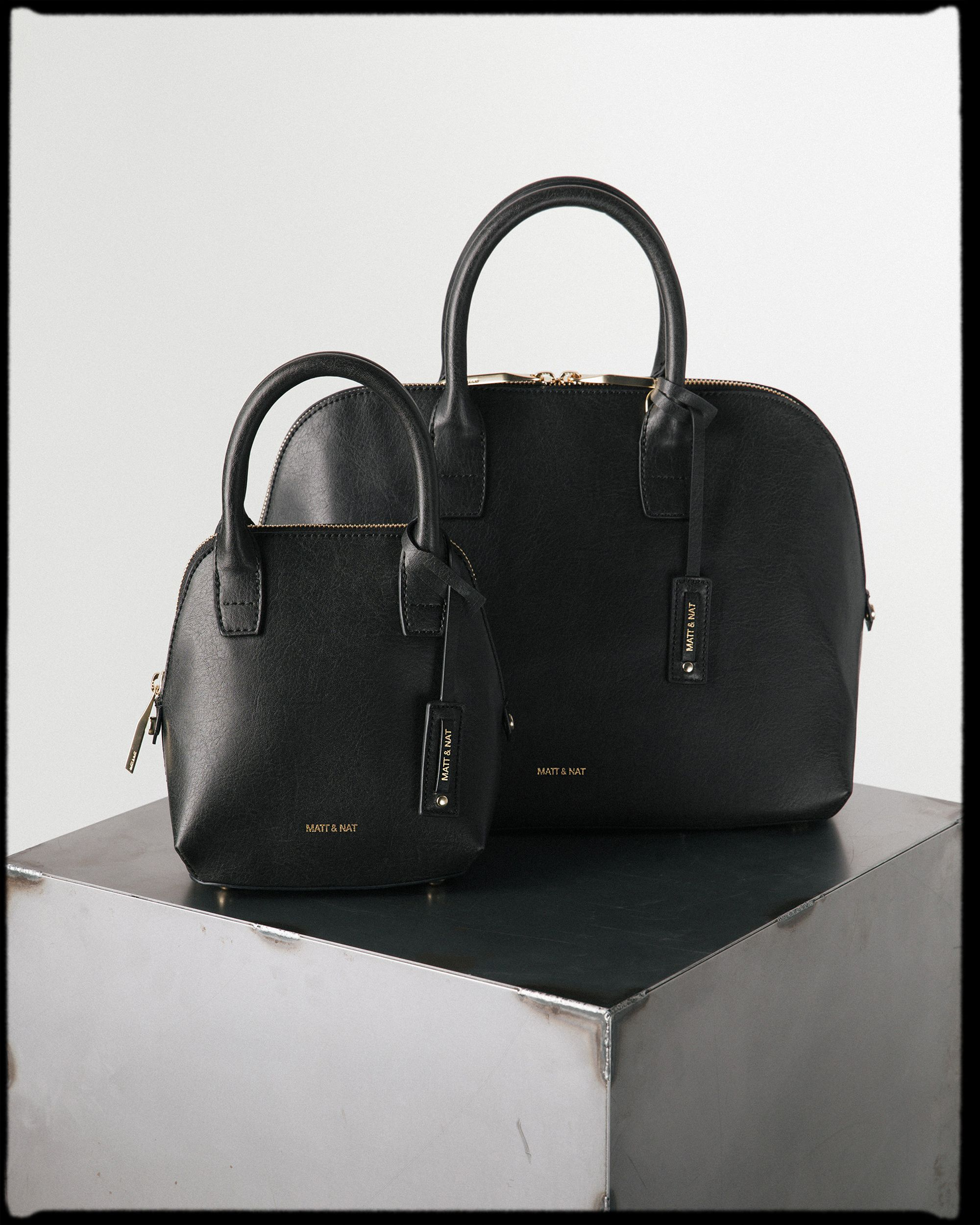 6887e374ac9d The GESSI & GESSI SM in BLACK. | Handbags | Vegan handbags, Biggie ...