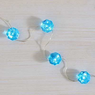 Jewel Glimmer Strings - Turquoise BOHEMIAN HOME Pinterest To be, Trees and Led candles