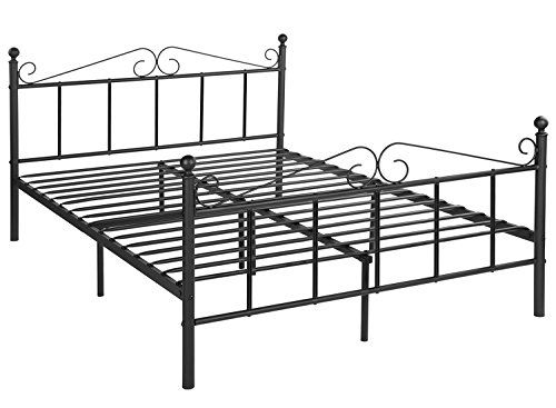 Greenforest Bed Frame Full Size With Headboard And Footboard Metal