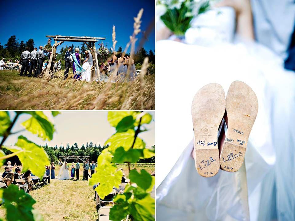 Field Wedding Ideas | ... Wedding Summer Open Field White