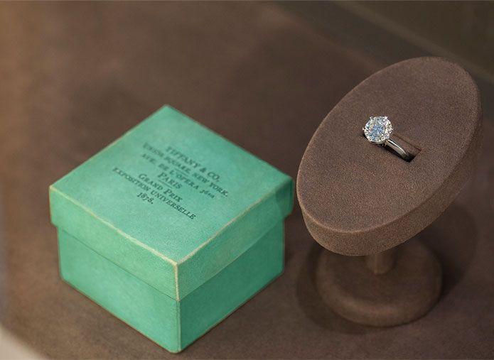 Introduced In 1854 The Tiffany Blue Box Is A Symbol Of Excellence