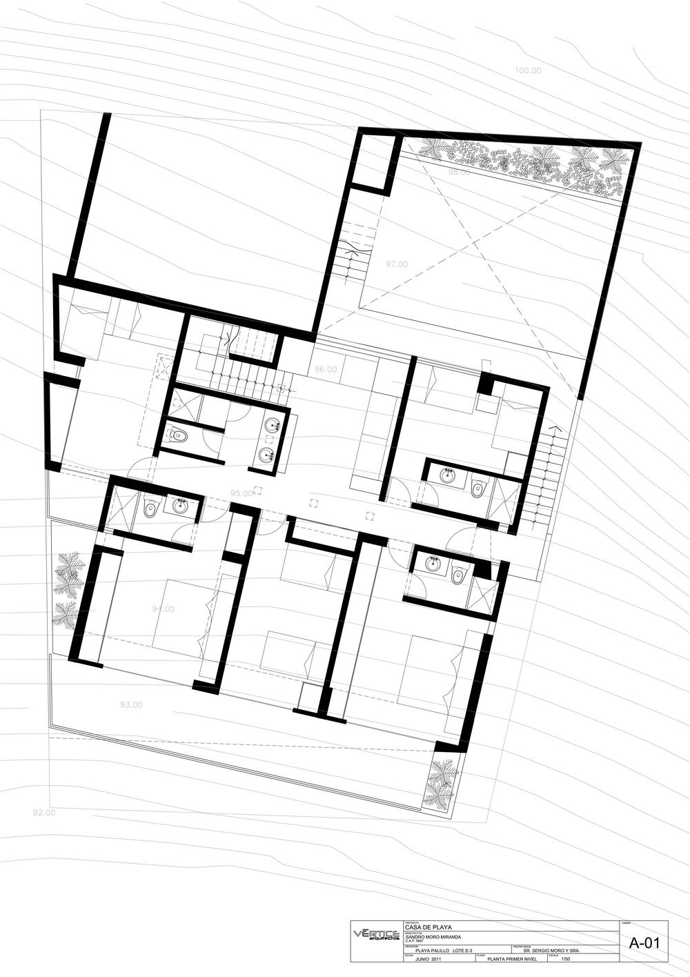 First Floor Plan Stunning Home Situated Above Palillos Beach Peru