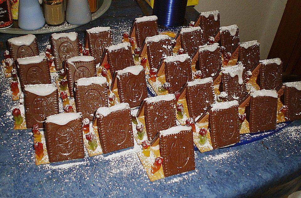 Hexenhaus Aus Butterkeksen Butterkekse Hexenhaus Und Gute