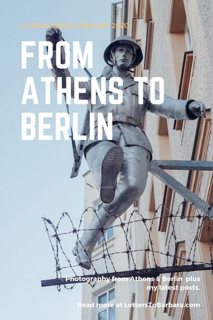 I've been traveling from Athens to Berlin for more than ten years. Here you can see my opinion about the cities, a short travel videos and photos. #Berlin #Athens #travelblog #travel