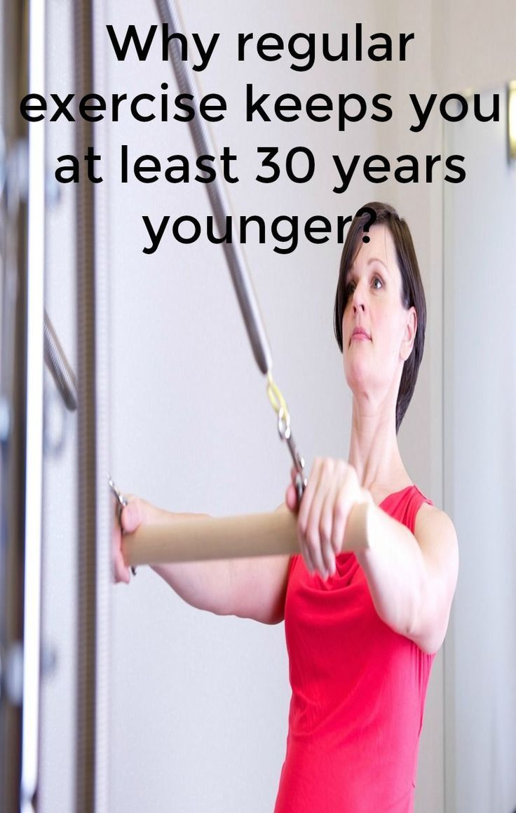 Who doesn't want to look younger! Regular exercise can give that result.How? #why #how #exercise #lo...