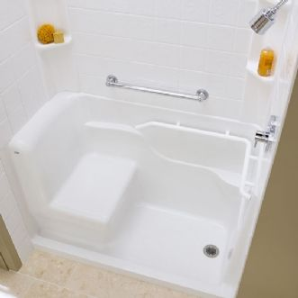 Alternative Shower Stall Walkin Acrylic Seated Safety Alternate View From Above American Standard Website