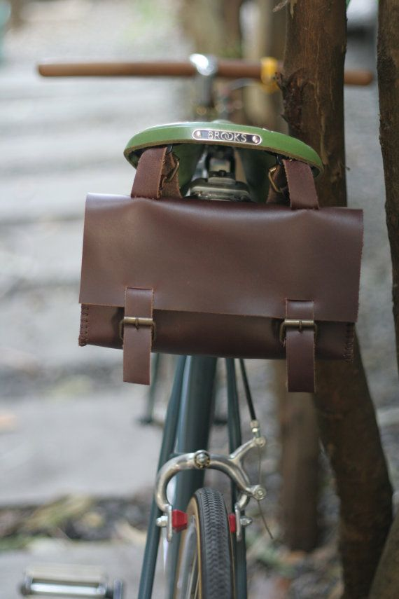 e2af544c728 Handmade bicycle messenger bag - monogram of