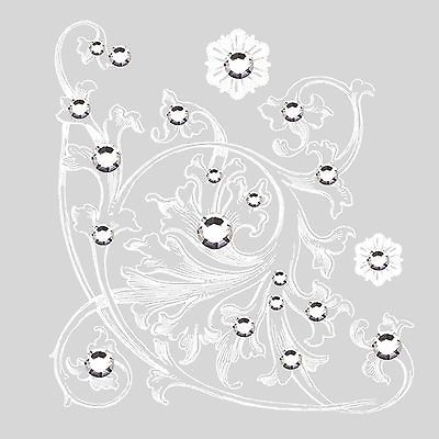 BasicGrey BLING IT ON-PALADIN WHITE #2771 scrapbooking RUB-ONS /& RHINESTONES