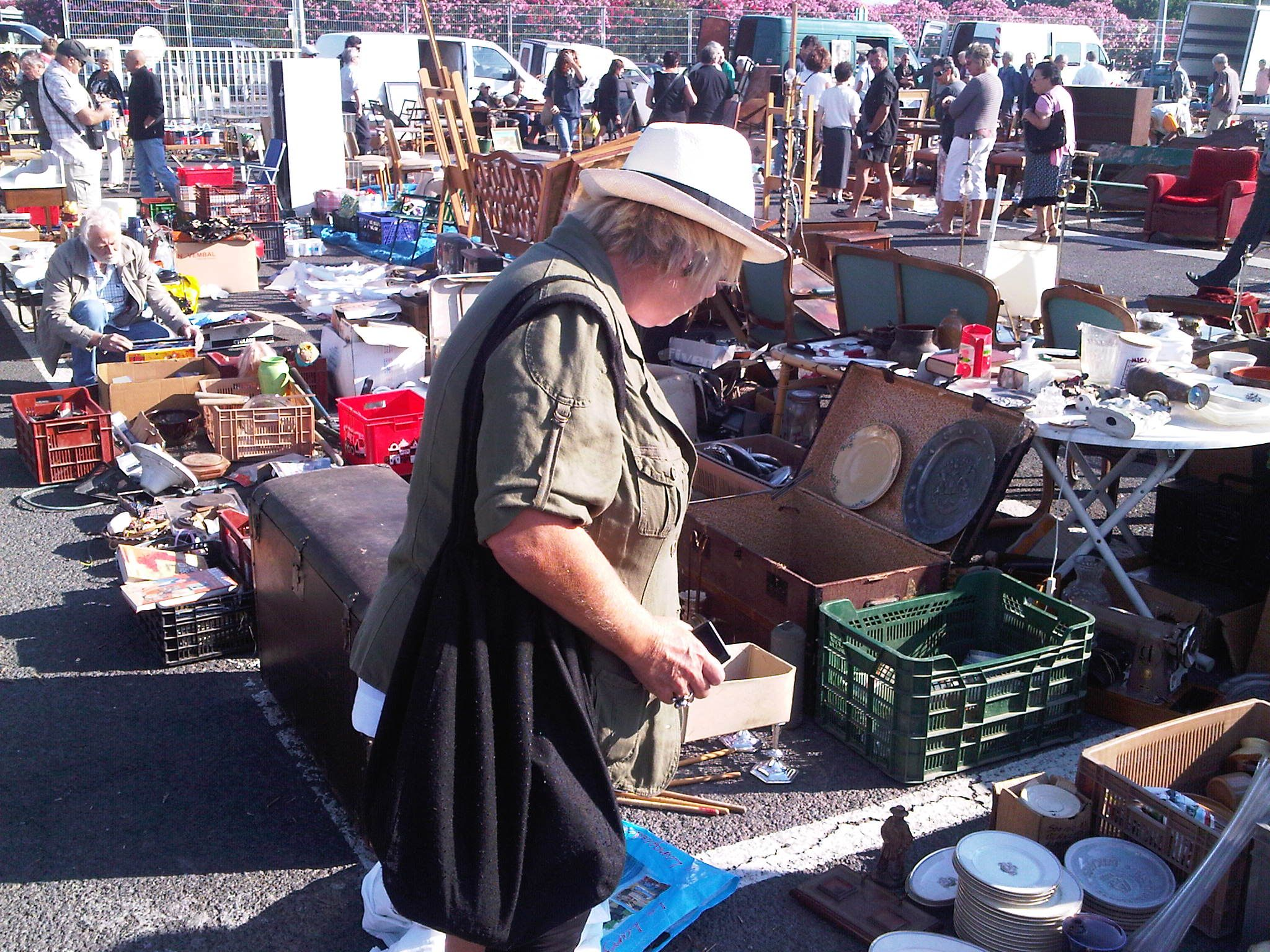 Scouring the flea market, an idea for a new business?