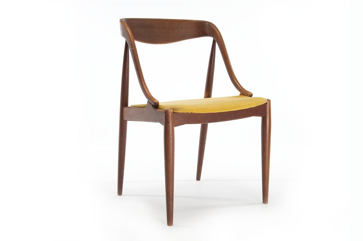 Mid-Century Danish Modern Teak Dining Chair
