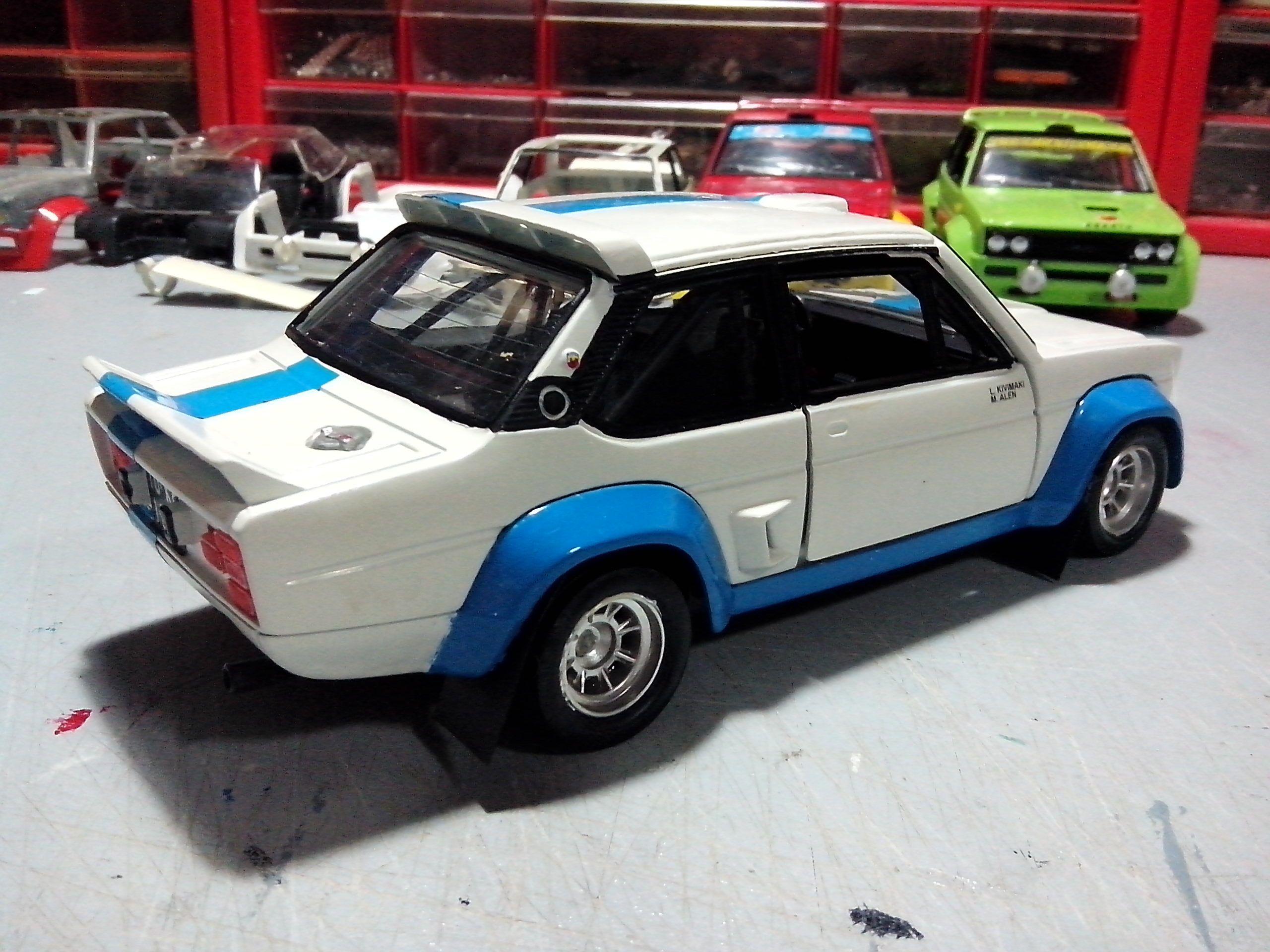Caselli Model Transkit Burago 1 24 Fiat 131 Abarth