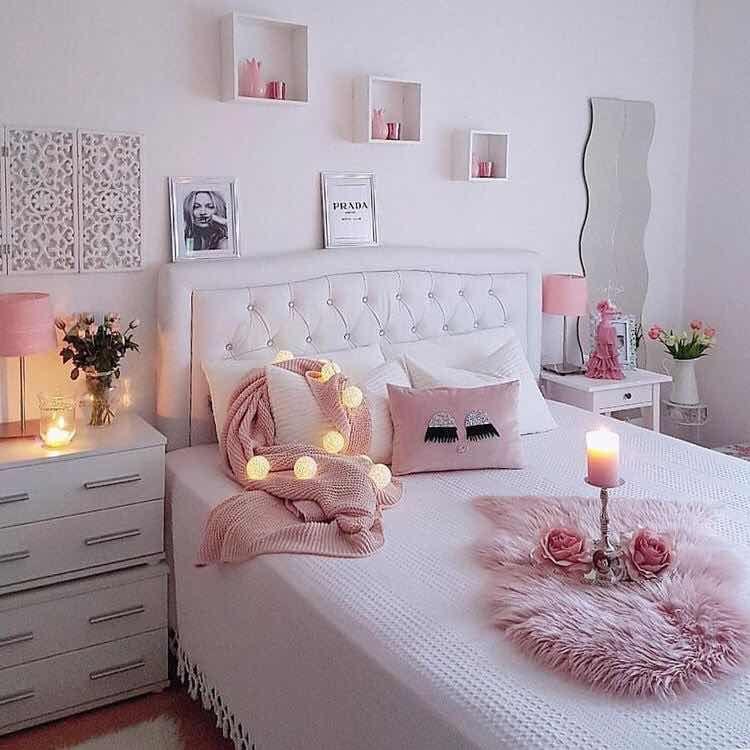30 hermosas ideas para cuartos de chicas super chic cuartos de chicas pinterest recamara - Decoraciones para cuartos ...