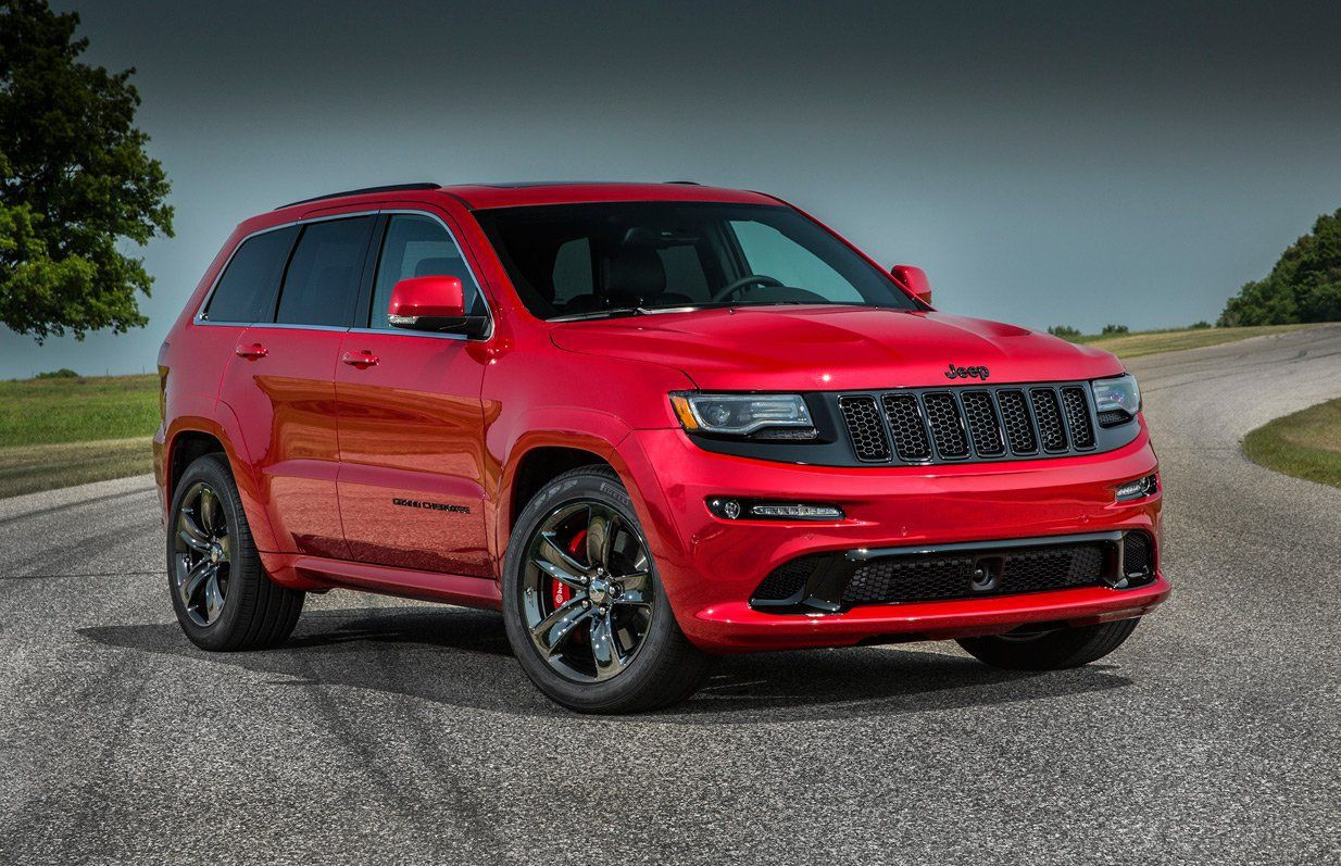 2018 Jeep Grand Cherokee Trackhawk The 707 Horsepower Debut Jeep Grand Cherokee Srt Jeep Grand Cherokee Jeep Grand