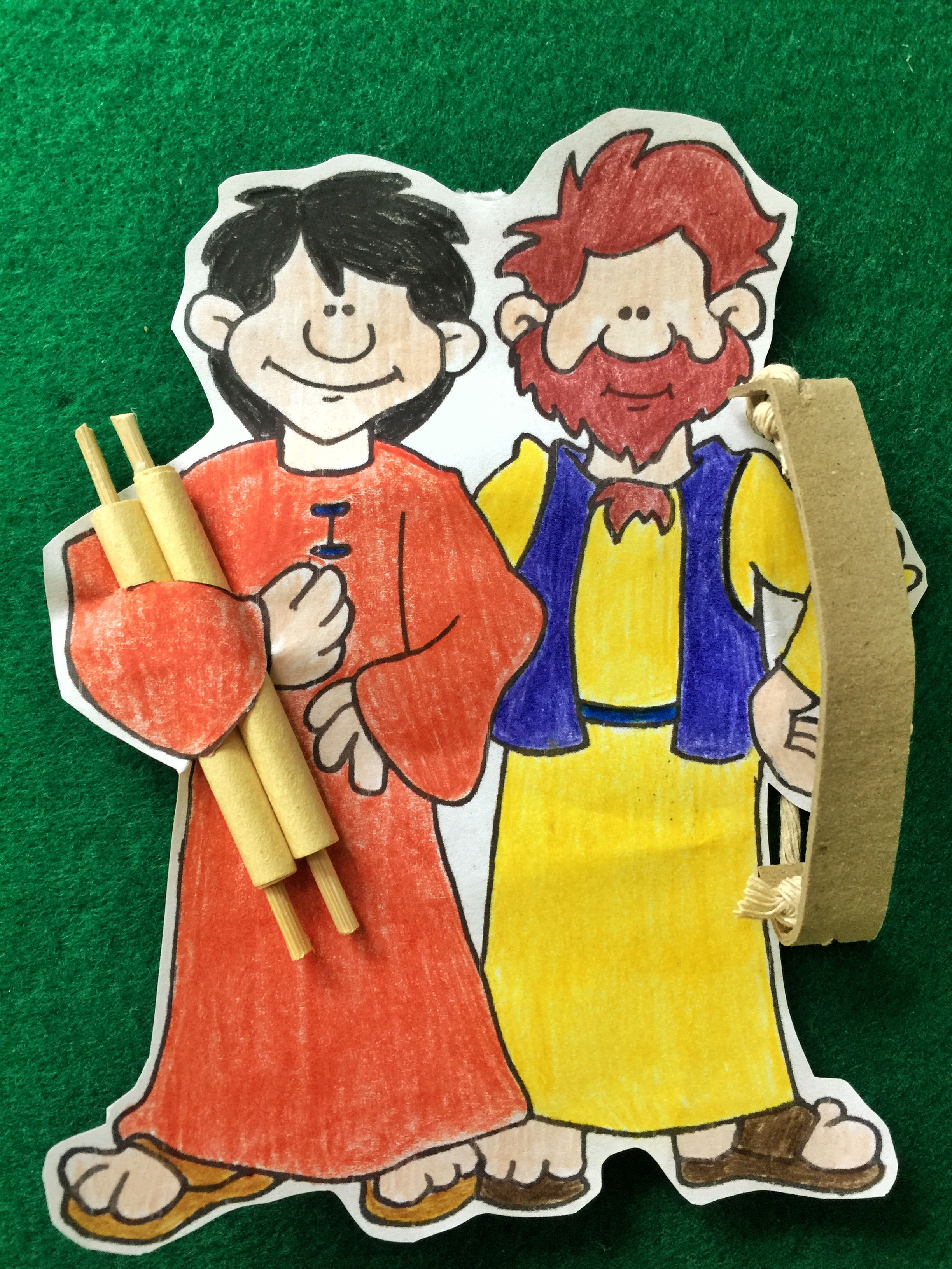 Esau and Jacob. Bible Crafts. Sunday school arts and crafts ...