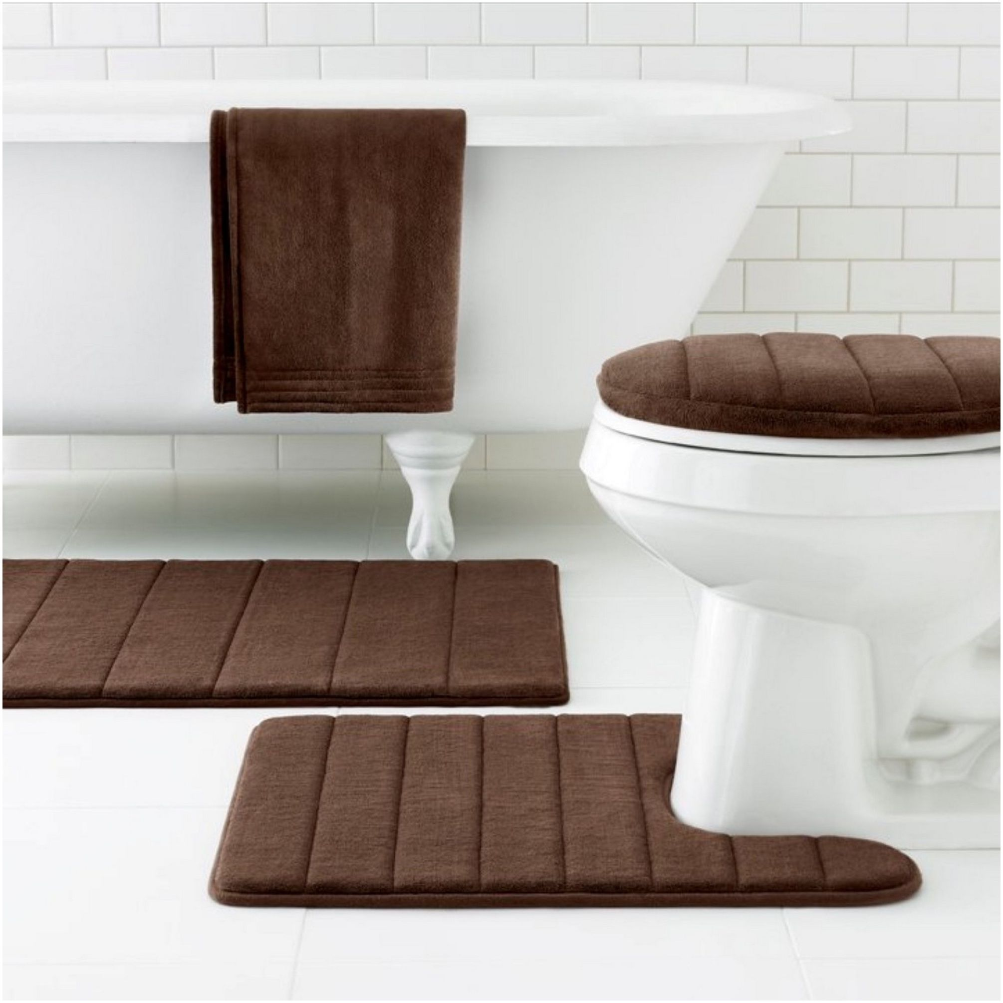Modern Bathroom Rugs Bathroom Rug Sets Bathroom Flooring Bathroom Floor Mat [ 2010 x 2010 Pixel ]