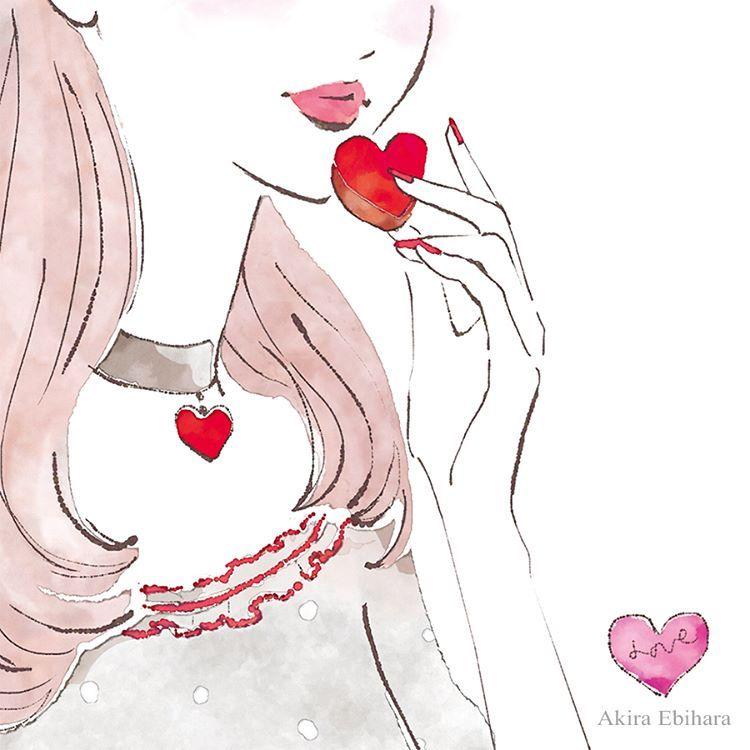 Valentine's Day✨  Illustration: Akira Ebihara|蛯原あきら