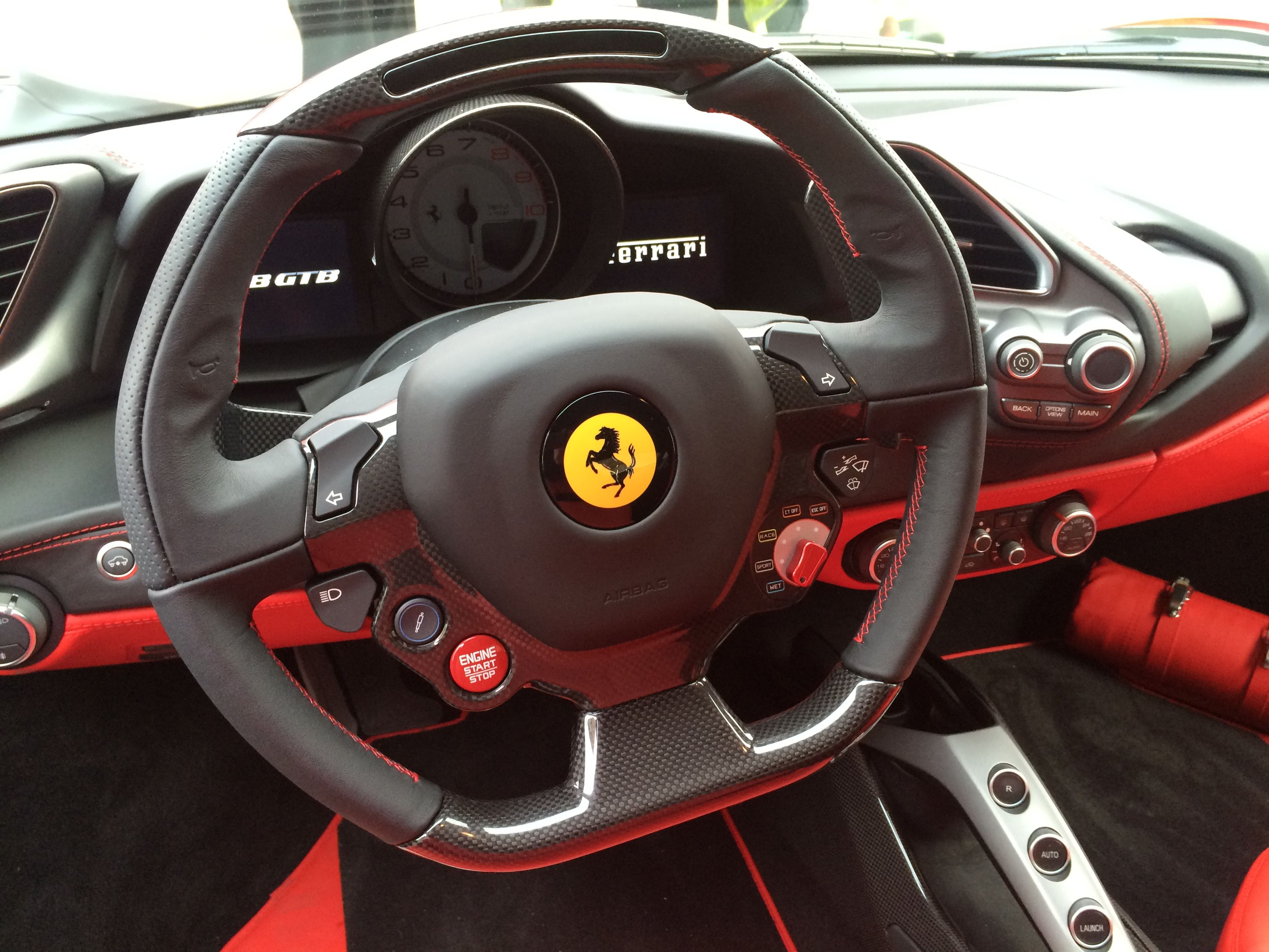 One of the first ferrari 488 supplied by scuderia automotive in the uk